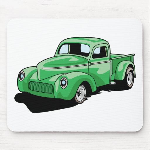 Cool Old Truck Mouse Mat