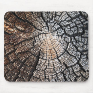 Cool old wood texture mouse pad