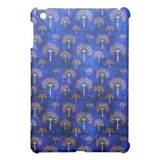 Cool  oriental blue pattern iPad case