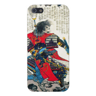 Cool oriental classic japanese samurai warrior art iPhone 5/5S cover