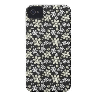 Cool oriental girly daisy flower floral pattern iPhone 4 Case-Mate cases