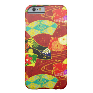 Cool oriental japanese abstract vibrant pattern barely there iPhone 6 case
