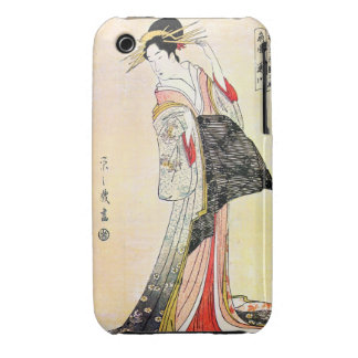 Cool oriental japanese classic geisha lady art iPhone 3 covers