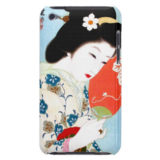 Cool oriental japanese classic geisha lady art iPod touch cover