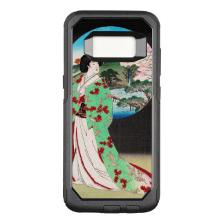 Cool oriental japanese classic geisha lady art OtterBox commuter samsung galaxy s8 case