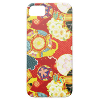 Cool oriental japanese colourful pattern iPhone 5 cases