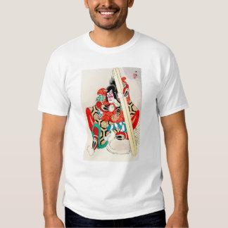 Cool Oriental Japanese Kagekiyo tattoo Tshirts