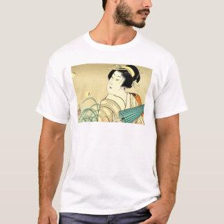 Cool Oriental Japanese Kasane Geisha art T-Shirt