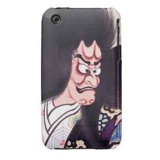 Cool Oriental Japanese Tsuchigumo Kabuki tattoo Case-Mate iPhone 3 Case