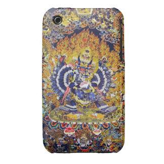 Cool oriental tangka Yamantaka death god tattoo iPhone 3 Case