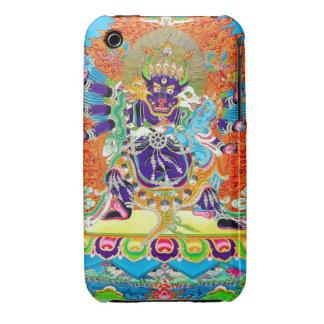 Cool oriental tangka Yamantaka death god tattoo iPhone 3 Case-Mate Case