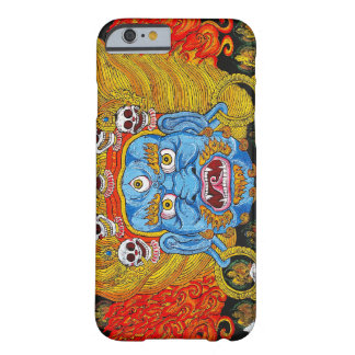 Cool oriental tibetan thangka demon tattoo art barely there iPhone 6 case