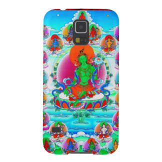 Cool oriental tibetan thangka Green Tara  tattoo Galaxy S5 Cases