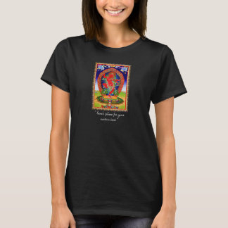 Cool oriental tibetan thangka Kurukulla tattoo T-Shirt