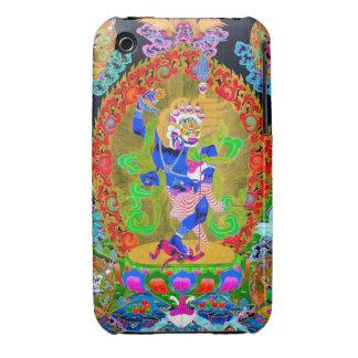 Cool oriental tibetan thangka Simhavaktra Dakini iPhone 3 Covers