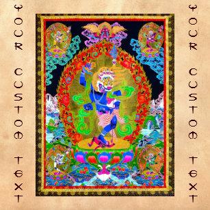 Cool Oriental Tibetan Thangka Simhavaktra Dakini Gifts on