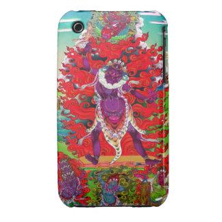 Cool oriental tibetan thangka tattoo Ekajati art Case-Mate iPhone 3 Case