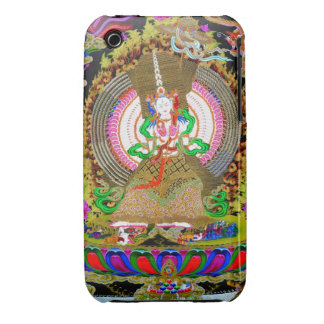 Cool oriental tibetan thangka Usnisa Sitatapatra iPhone 3 Cover