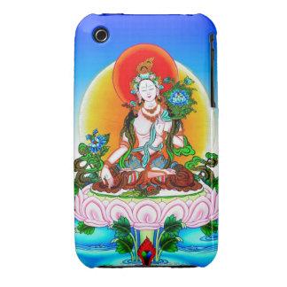 Cool oriental tibetan thangka White Tara tattoo iPhone 3 Cover