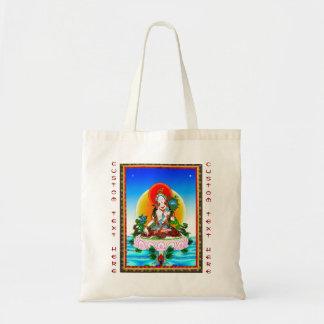Cool oriental tibetan thangka White Tara tattoo Tote Bag