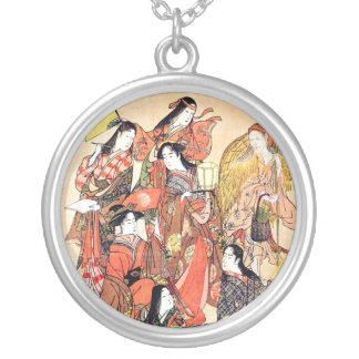 Cool Oriental Traditional Japanese Woman Necklace