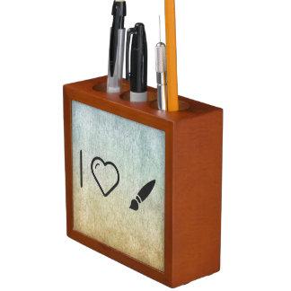 Cool Paint Brush Desk Organiser