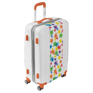 Cool Paint Splatter Luggage
