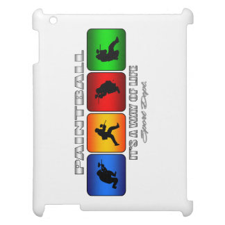 Cool Paintball It Is A Way Of Life Cover For The iPad 2 3 4