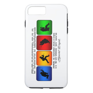 Cool Paintball It Is A Way Of Life iPhone 8 Plus/7 Plus Case