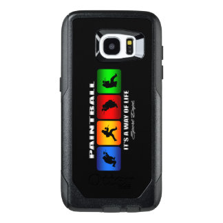 Cool Paintball It Is A Way Of Life OtterBox Samsung Galaxy S7 Edge Case