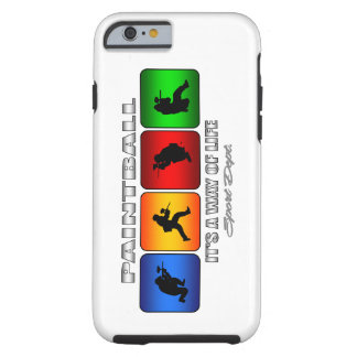 Cool Paintball It Is A Way Of Life Tough iPhone 6 Case