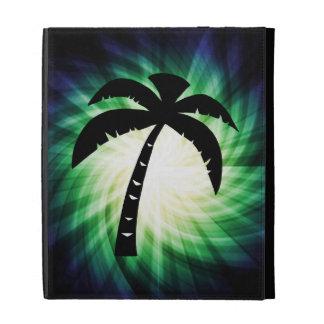 Cool Palm Tree Silhouette iPad Folio Cases