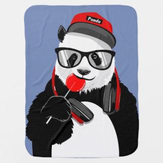Cool Panda  Baby Blanket