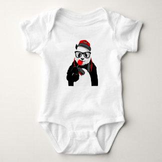 Cool Panda Baby Bodysuit