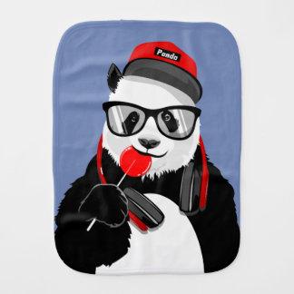 Cool Panda Baby Burp Cloth