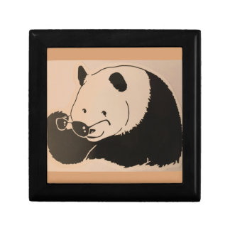 Cool Panda with Shades Gift Box