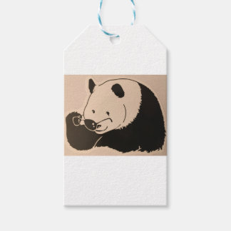Cool Panda with Shades Gift Tags