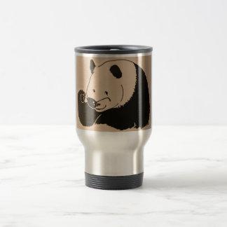 Cool Panda with Shades Travel Mug