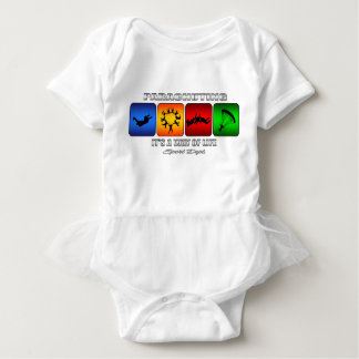 Cool Parachuting It Is A Way Of Life Baby Bodysuit