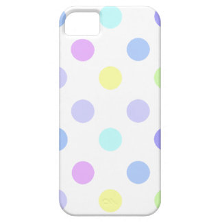 Cool Pastel Polka Dots Pattern iPhone 5 Cover