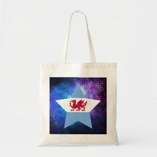 Cool Patagonia Flag Star Budget Tote Bag