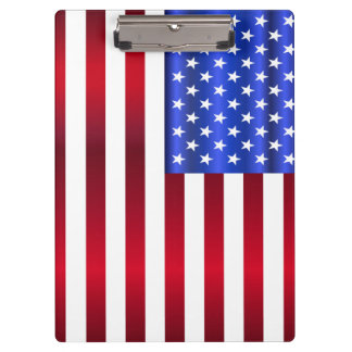 Cool Patriotic Stars & Stripes Clipboard