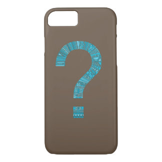 Cool Patterned Question Mark iPhone 7 Case