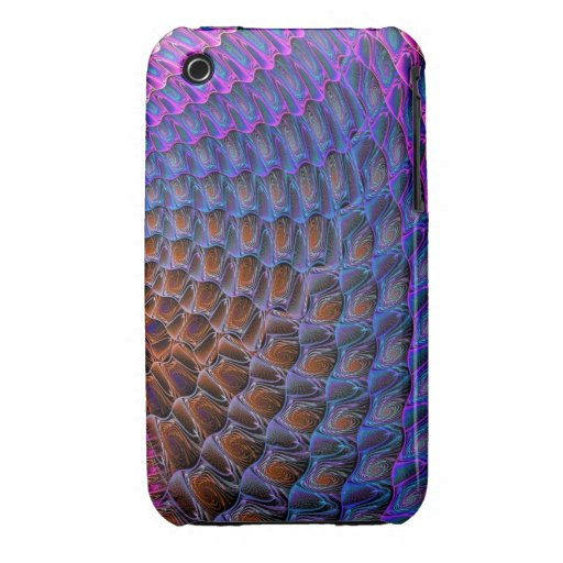 Cool Patterns and Spirals iPhone 3 Case