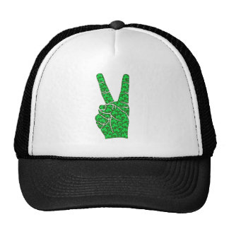 Cool peace sign hats