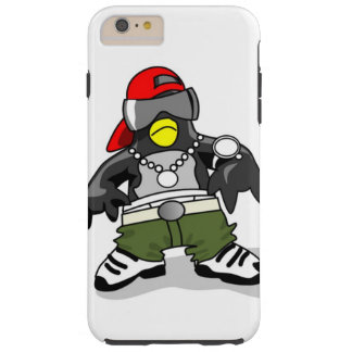 Cool Penguin Dude Tough iPhone 6 Plus Case