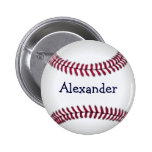 Cool Personalised Baseball Buttons