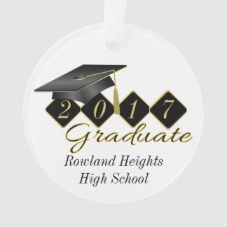 Cool Personalised Graduation Ornament