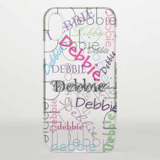 Cool Personalized | Your Name iPhone X Case