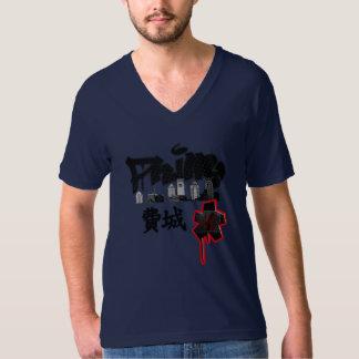 Cool Philly graffiti kanji calligraphy art T Shirts